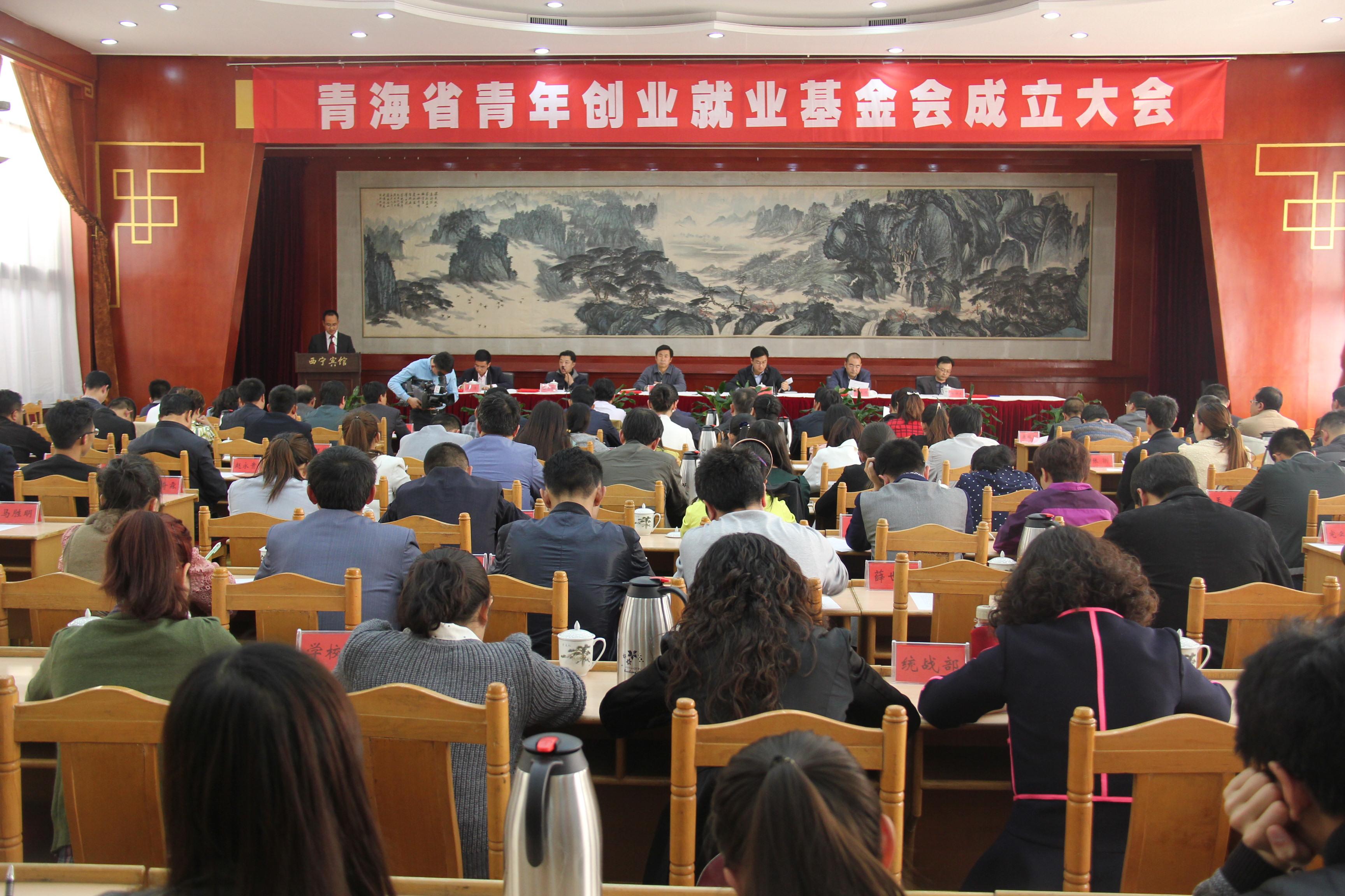 青海省青年创业就业基金会成立